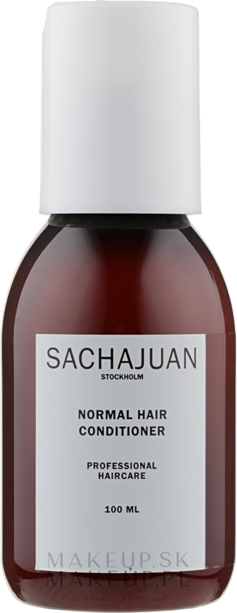 Kondicionér pre ľahké rozčesávanie a lesk pre normálne vlasy - Sachajuan Normal Hair Conditioner — Obrázky 100 ml