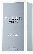 Voňavky, Parfémy, kozmetika Clean Clean For Men Classic - Toaletná voda