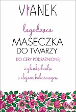 Voňavky, Parfémy, kozmetika Upokojujúca maska pre tvár - Vianek