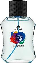 Voňavky, Parfémy, kozmetika Adidas Team Five - Toaletná voda