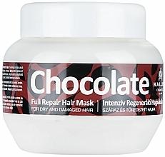 Voňavky, Parfémy, kozmetika Maska na suché a poškodené vlasy - Kallos Cosmetics Chocolate Mask
