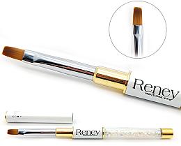 Voňavky, Parfémy, kozmetika Plochý štetec na manikúru - Reney Cosmetics Pro Flat AN04