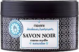 Voňavky, Parfémy, kozmetika Čierne mydlo s olivovým olejom - Mohani Savon Noir Natural Soap
