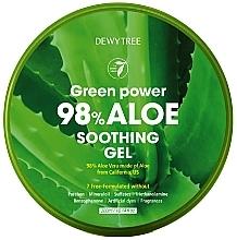Voňavky, Parfémy, kozmetika Upokojujúci gél z aloe - Dewytree Green Power Aloe Soothing Gel