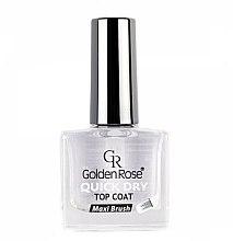 Voňavky, Parfémy, kozmetika Sušiaci prípravok na lak - Golden Rose Quick Dry Top Coat