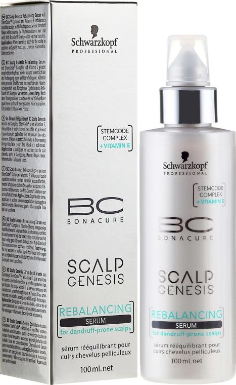 Sérum na vlasy - Schwarzkopf Professional BC Scalp Genesis Rebalancing Serum