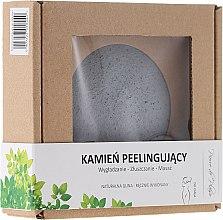 Voňavky, Parfémy, kozmetika Prírodný kameň na peeling na tvár, sivá - Pierre de Plaisir Natural Scrubbing Stone Body