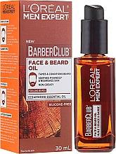 Voňavky, Parfémy, kozmetika Olej a fúzy - L'Oreal Paris Men Expert Barber Club Long Beard + Skin Oil