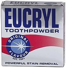 Voňavky, Parfémy, kozmetika Prášok na zuby - Eucryl Toothpowder Original