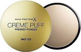 Voňavky, Parfémy, kozmetika Kompaktný púder (verzia bez špongie) - Max Factor Creme Puff Pressed Powder