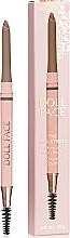 Voňavky, Parfémy, kozmetika Ceruzka na obočie - Doll Face The Sculptress Chiseled Brow Pencil