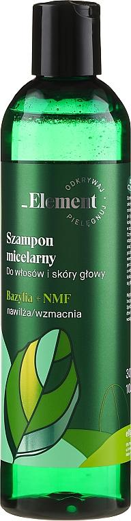 Šampón na posilnenie vlasov proti vypadávaniu - _Element Basil Strengthening Anti-Hair Loss Shampoo