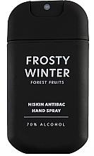 """Voňavky, Parfémy, kozmetika Dezinfekčný sprej na ruky """"Lesné plody"""" - HiSkin Antibac Hand Spray Frosty Winter"""