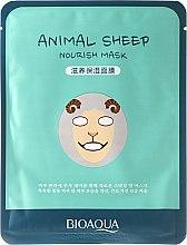 """Voňavky, Parfémy, kozmetika Látková maska na tvár vo zvieracom štýle """"Ovce"""" - Bioaqua Animal Sheep Nourish Mask"""