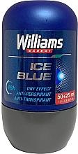 Voňavky, Parfémy, kozmetika Guľôčkový dezodorant - Williams Expert Ice Blue Roll-On Anti-Perspirant Dry Effect