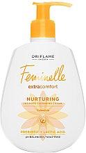 Voňavky, Parfémy, kozmetika Zmäkčujúci krémový gél pre intímnu hygienu - Oriflame Feminelle Nurturing Intimate Cream