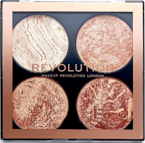 Paleta pre konturing tváre - Makeup Revolution Cheek Kit
