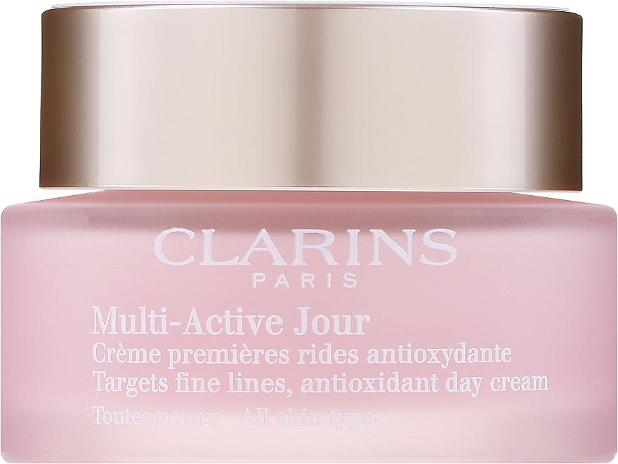 Denný krém pre všetky typy pleti - Clarins Multi Active Antioxidant Day Cream All Skin Type