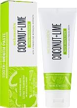 Voňavky, Parfémy, kozmetika Zubná pasta - Schmidt's Coconut Lime Toothpaste