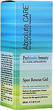 Voňavky, Parfémy, kozmetika Gél na mastnú a zmiešanú pleť - Absolute Care Prebiotic Beauty Spot Rescue Gel
