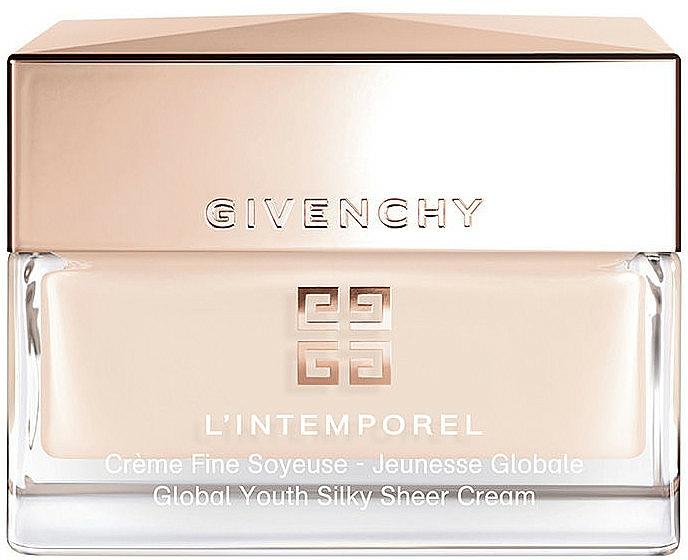 Jemný krém na tvár - Givenchy L'Intemporel Global Youth Silky Sheer Cream