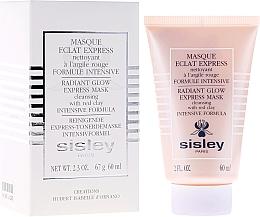 Voňavky, Parfémy, kozmetika Expresná maska s červenou hlinou - Sisley Eclat Express Radiant Glow Express Mask Cleansing With Red Clay Intensive Formula