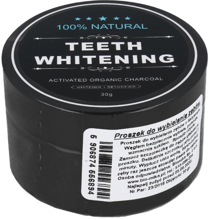 Bieliaci zubný prášok s aktívnym uhlím - Biomika Natural Teeth Powder