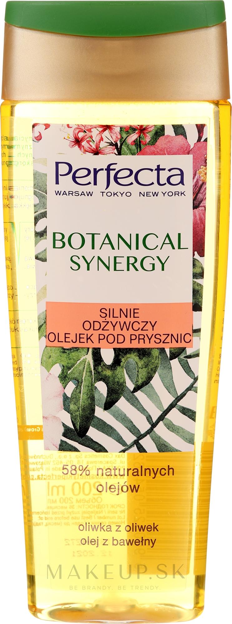 """Sprchový olej """"Olivový olej a bavlna"""" - Perfecta Botanical Synergy — Obrázky 200 ml"""