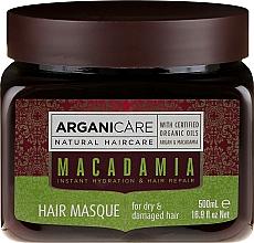 Voňavky, Parfémy, kozmetika Ultra-vyživná a regeneračná maska na vlasy - Arganicare Silk Macadamia Hair Mask