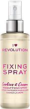 Voňavky, Parfémy, kozmetika Sprej fixujúci make-up - I Heart Revolution Fixing Spray Cookies & Cream