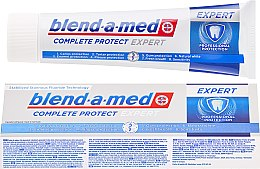 Voňavky, Parfémy, kozmetika Zubná pasta - Blend-a-med Complete Protect Expert Professional Protection Toothpaste