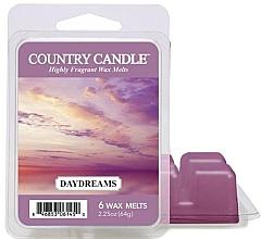 Voňavky, Parfémy, kozmetika Vosk pre aromatickú lampu - Country Candle Daydreams Wax Melts