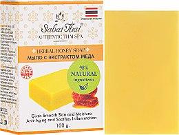 Voňavky, Parfémy, kozmetika Mydlo s medovým extraktom - Sabai Thai Herbal Honey Soap