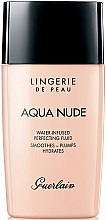 Voňavky, Parfémy, kozmetika Hydratačné nadácie fluid - Guerlain Lingerie de Peau Aqua Nude