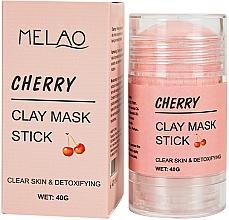 Voňavky, Parfémy, kozmetika Maska na tvár v tyčinke Cherry - Melao Cherry Clay Mask Stick