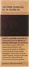 "Esenciálny olej ""Jasmín"" - Apivita Aromatherapy Organic Jasmine Oil — Obrázky N3"