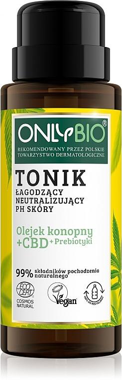 Upokojujúce tonikum na neutralizáciu pH pokožky - Only Bio