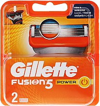 Voňavky, Parfémy, kozmetika Výmenná kazeta pre holenie - Gillette Fusion Power