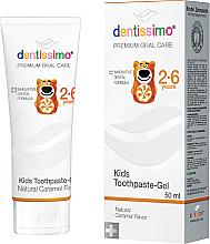 Voňavky, Parfémy, kozmetika Zubná pasta pre deti - Dentissimo Kids Toothpaste Caramel