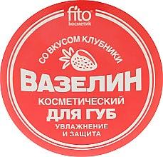 """Voňavky, Parfémy, kozmetika Vazelínová kozmetika na pery """"Hydratácia a ochrana"""" s jahodovou chuťou - Fito Kozmetic"""