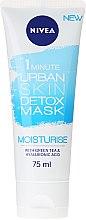 Voňavky, Parfémy, kozmetika Maska na tvár - Nivea Daily Essentials 1 Minute Urban Detox Moisturise Mask
