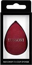 Voňavky, Parfémy, kozmetika Špongia na make-up, vínovo červená - Lussoni Raindrop Makeup Sponge
