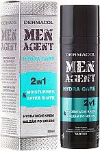 Voňavky, Parfémy, kozmetika Balzam po holení - Dermacol Men Agent Moisturiser After Shave