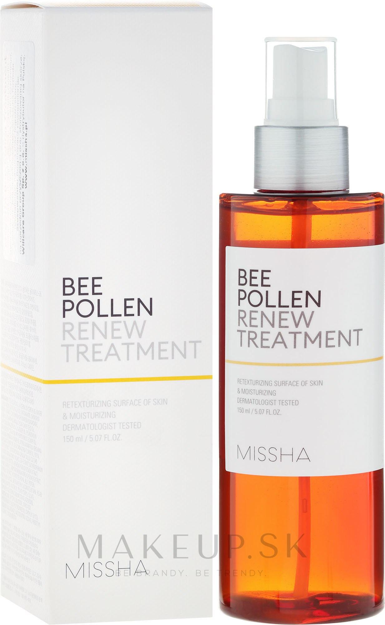 Obnovujúci tonikum - Missha Bee Pollen Renew Treatment — Obrázky 150 ml