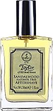 Voňavky, Parfémy, kozmetika Taylor Of Old Bond Street Sandalwood Alcohol Free Aftershave Lotion - Lotion po holení