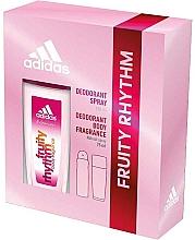 Voňavky, Parfémy, kozmetika Adidas Fruity Rhythm - Sada (deo/spray/75ml+deo/150ml)