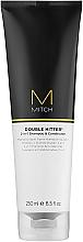 Voňavky, Parfémy, kozmetika Šampón a kondicionér 2 v 1 - Paul Mitchell Mitch Double Hitter 2 in 1 Shampoo & Conditioner