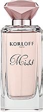 Voňavky, Parfémy, kozmetika Korloff Paris Miss - Parfumovaná voda