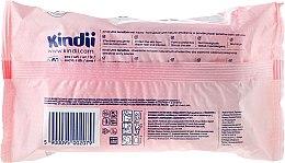 Detské vlhčené obrúsky, 60ks - Cleanic Kindii Baby Sensitive Wipes — Obrázky N2