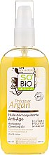 Voňavky, Parfémy, kozmetika Čistiaci olej na odličovanie - So'Bio Etic Precieux Argan Anti-Aging Cleansing Oil